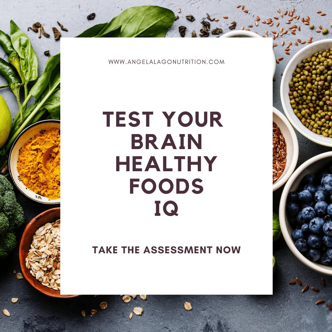 Brain Healthy Foods IQ Quiz Link