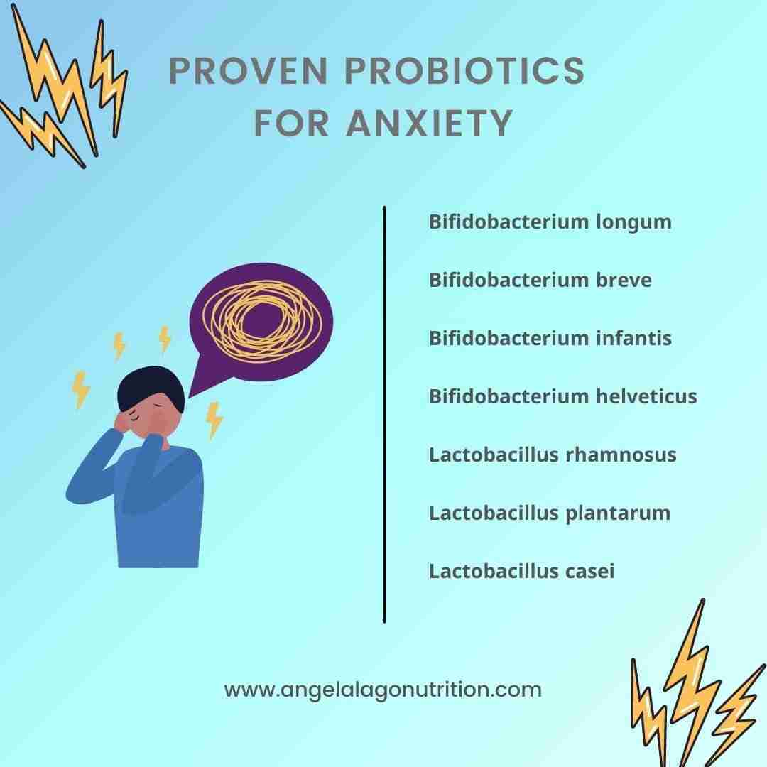 Proven Probiotics for Anxiety List